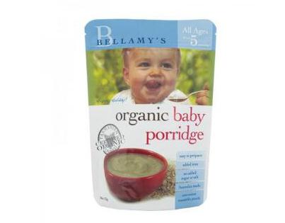 Bellamy's 贝拉米 婴幼儿有机麦片粥 125g(5个月以上)