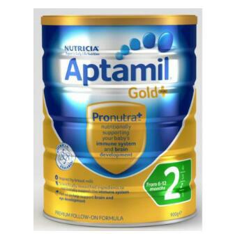 【澳洲CD药房】Aptamil Gold Plus 2 澳洲爱他美金装配方奶粉 2段 (6个月以上) 900g
