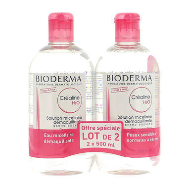 Bioderma 贝德玛 温和无刺激卸妆水粉水500ml 2瓶装【限购2件】