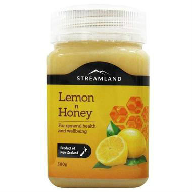 【澳洲PO药房】Streamland 天然柠檬蜂蜜(补充VC)500g