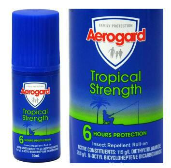 【澳洲CD云顶集团药房】Aerogard 澳洲强效驱蚊防蚊滚珠 50ml
