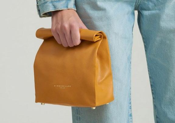 下一个It Bag! Simon Miller羊皮纸袋包发布