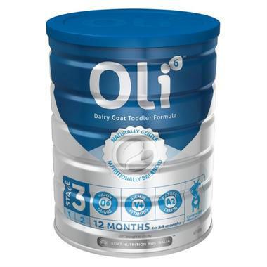 【澳洲PO云顶集团药房】Oli6 婴幼儿配方羊奶粉 3段 12个月以上 800g