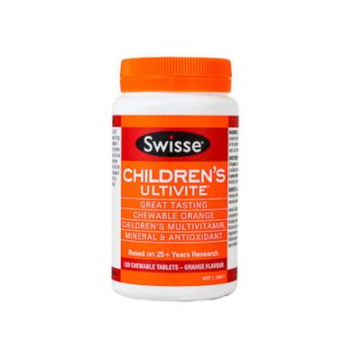 【澳洲Amcal】【限量到货】Swisse 儿童复合维生素+矿物质咀嚼片120片