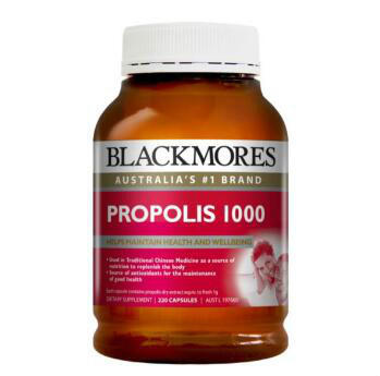 【澳洲CD药房】Blackmores 蜂胶软胶囊 220X1000mg/粒