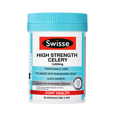 【澳洲RY药房】Swisse 强效西芹籽精华胶囊 50粒