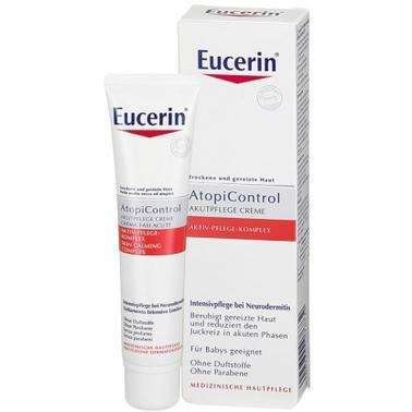 【德国DC药房】Eucerin 优色林 AtopiControl湿疹过敏深层舒爽霜 40ml