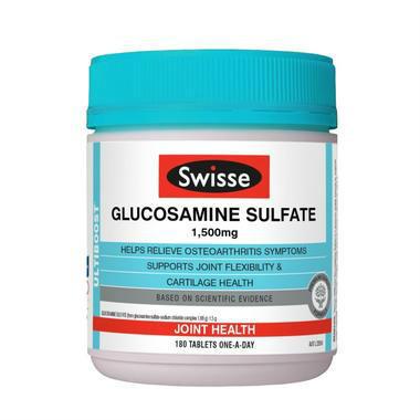 【澳洲PO药房】Swisse 氨基葡萄糖营养片 180片