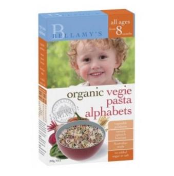 【澳洲CD药房】Bellamy&#039s 贝拉米 婴幼儿有机蔬菜字母意面 200g
