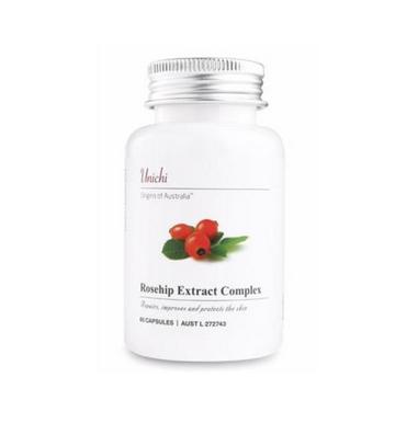 【澳洲Amcal】Unichi 玫瑰果精华胶囊 60粒 美白/修复/抗黑色素