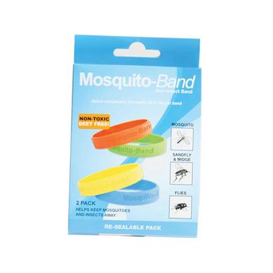 【澳洲Amcal】Mosquito-Band 硅胶驱蚊手环 2只装