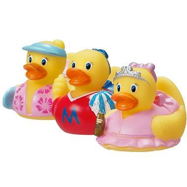 【美国Babyhaven】Munchkin 麦肯奇 满趣健洗澡玩具迷你鸭3只装