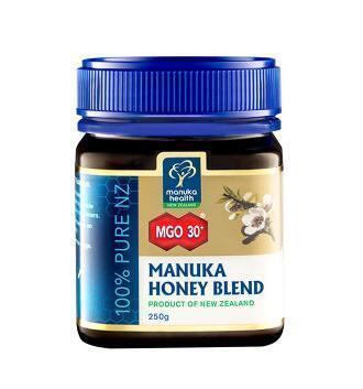 【满78纽免邮】Manuka Health 蜜纽康麦卢卡活性蜂蜜MGO30+ 250g