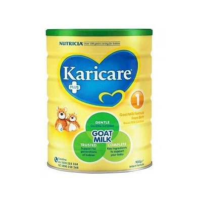 【澳洲RY药房】Karicare 可瑞康婴幼儿配方羊奶粉1段 900G