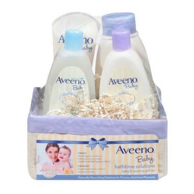 【美国Babyhaven】【用码减3美金】【极速香港仓】Aveeno 艾维诺 妈妈宝宝日常洗护套装 1套