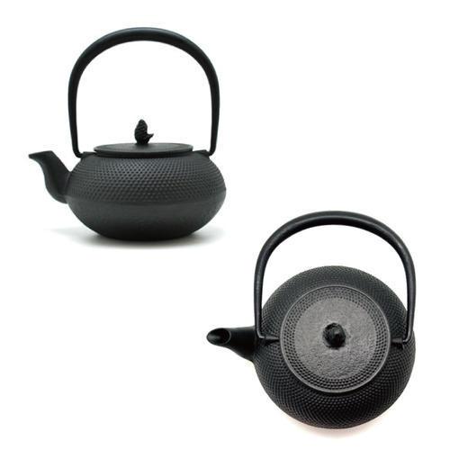 【松屋百货】【伴手礼专场单品包邮】南部铁器NANBUTEKKI霰纹 款铸铁茶壶烧水壶