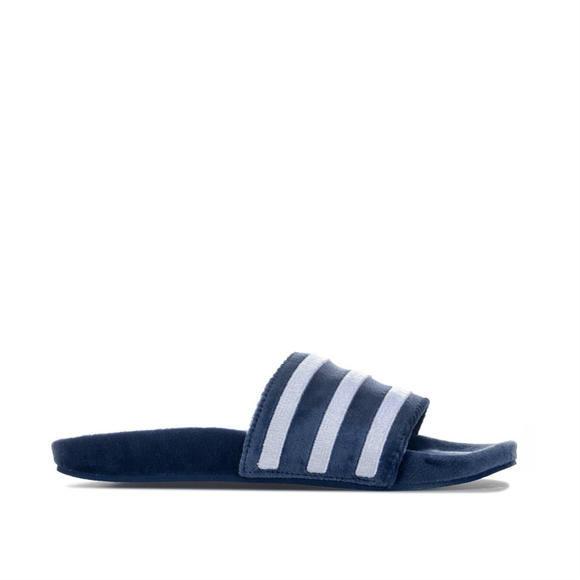 adidas Originals  Adilette Slides男士天鹅绒拖鞋 +New Era男士休闲系带慢跑长裤