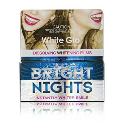 【新西兰PD】【五件包邮】White Glo 去黄去渍美白牙贴 6包