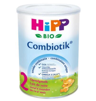 【荷兰DOD】Hipp 荷兰版喜宝 有机益生菌婴儿奶粉标准2段(适合6+个月以上婴幼儿)900g