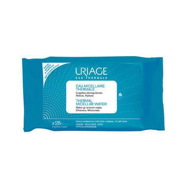 Uriage 依泉 卸妆清洁湿纸巾 25片