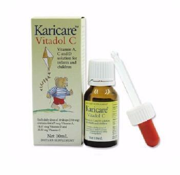 【满89纽免邮】Karicare 可瑞康VC滴剂 10ml 婴幼儿滴剂 儿童维生素C