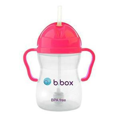 【新西兰PD】B.Box 宝宝水瓶 重力饮水杯 标准型 240ml 草莓粉色(6个月以上)
