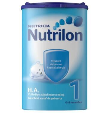 【荷兰DOD】Nutrilon H.A.牛栏抗过敏半水解特殊配方奶粉 1段 750g