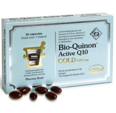 【德国BA】【新晋热销款】Pharma Nord 法尔诺德 Q10辅酶 黄金版100mg高含量 30粒