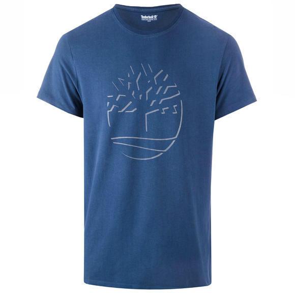 TIMBERLAND  男士Dead Reflective T恤+男士全拉链连帽经典双口袋印花卫衣