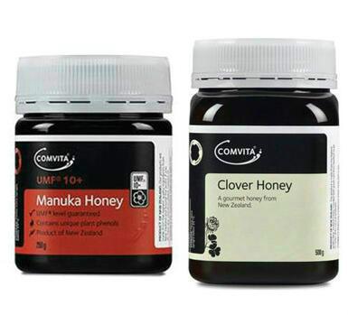 【新西兰PD】【包邮套装】Comvita 康维他 纯天然麦卢卡蜂蜜 500g +麦卢卡蜂蜜 UMF10+ 250g