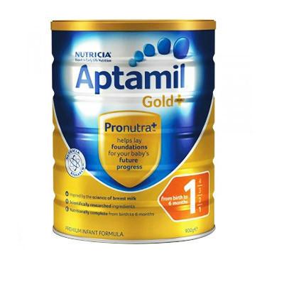 【澳洲RY药房】Aptamil 爱他美 金装1段婴幼儿奶粉 900g