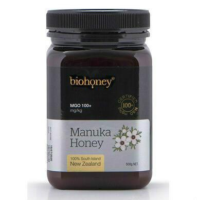 【新西兰PD】【两件包邮】Biohoney 麦卢卡蜂蜜 MGO100+ 500g
