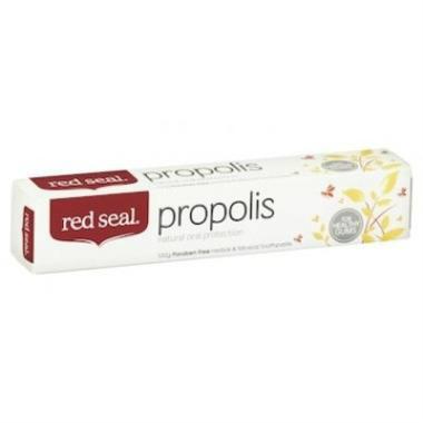【澳洲PO药房】Red seal 红印 天然蜂胶牙膏 100g(缓解牙齿出血)