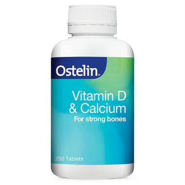 【澳洲PO药房】Ostelin 维生素D+钙片 250片
