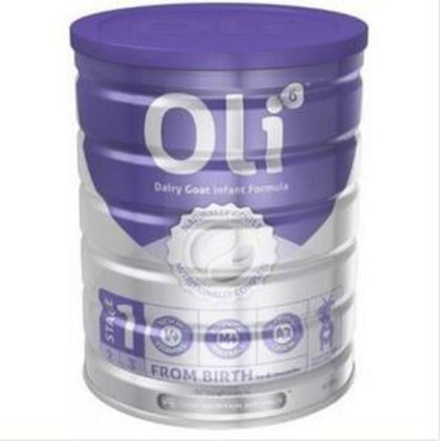 【澳洲Amcal】Oli6 婴幼儿配方羊奶粉1段 800g
