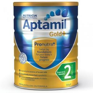 Aptamil 爱他美 金装2段婴幼儿奶粉 900g