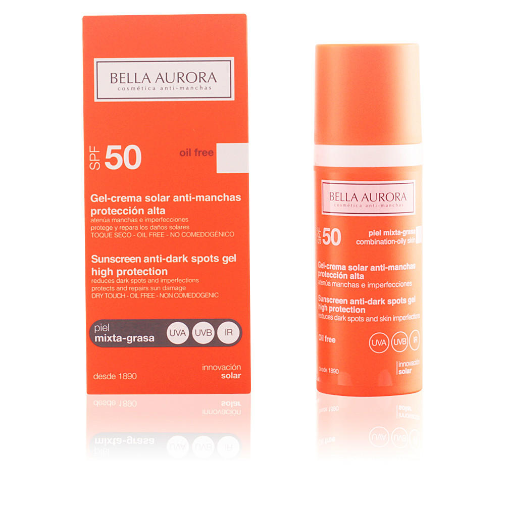 BELLA AURORA 贝雅欧若拉 抗斑无油专业美白防晒霜 SPF50 混合性肌肤 50ml,还有更多美妆哦!