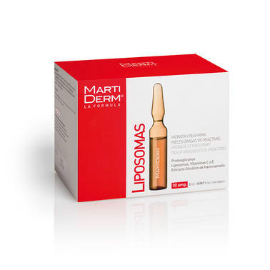 【德国DC药房】Martiderm 油性敏感性的平衡活肌精华Liposomas 30AM2ml