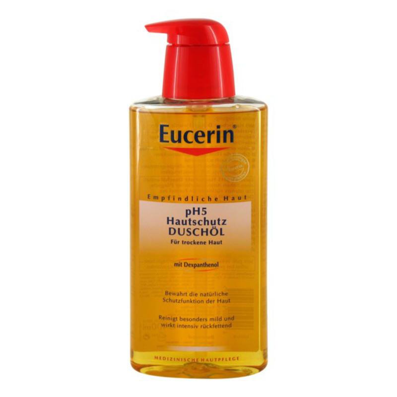【德国BA】Eucerin 优色林弱酸性沐浴油 卸除身体防晒/温和保湿 400ml