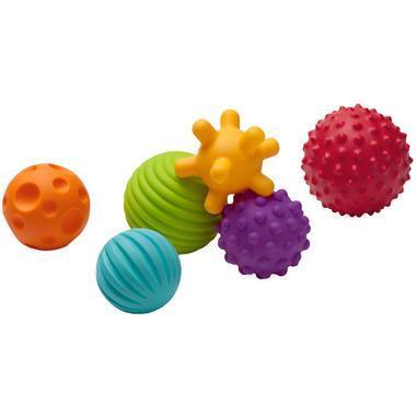 【美国Babyhaven】【用码立减2美金】婴蒂诺 宝宝手抓多纹理感知球 多球组合