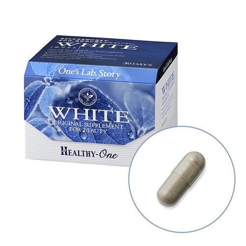 【松屋百货】Healthy one专场下单立减500日元】Healthy-One white 一次实验故事 美白胶囊 60粒
