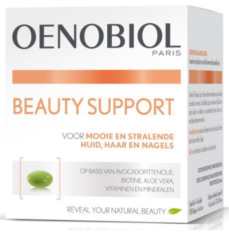 【荷兰DOD】oenobiol Paris欧诺比维生素矿物质芦荟葡萄籽美容胶囊 60粒