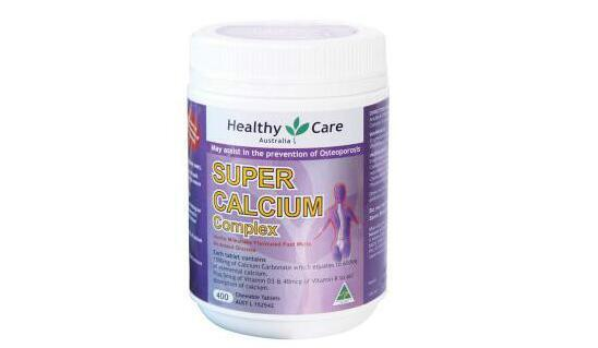 Healthy Care 超级钙+维生素D复合咀嚼片 400粒,特价AU$26.35