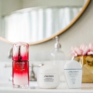 Shiseido美国官网订单满$70送4件套百优套装