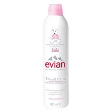 Evian依云婴儿矿泉水喷雾大喷300ml 温和补水