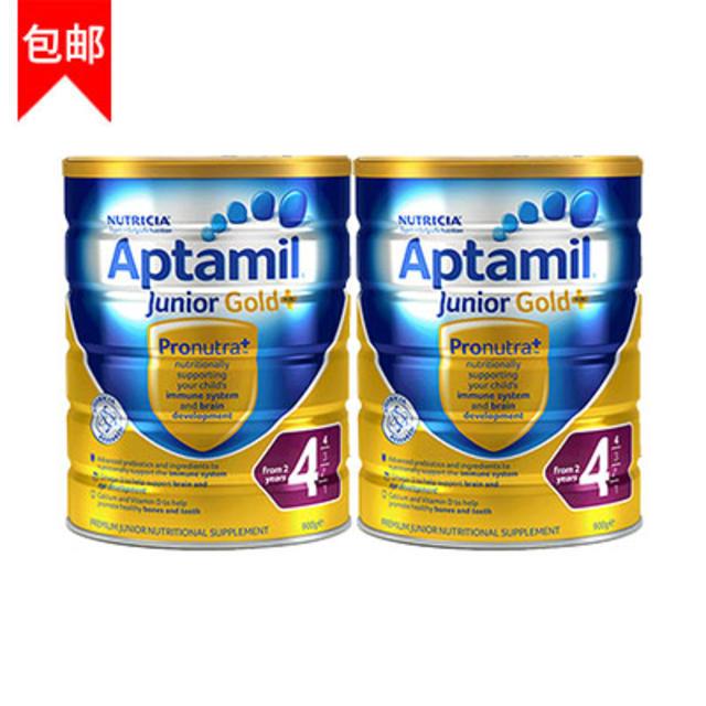 【澳洲Amcal】【包邮组合装】Aptamil 爱他美 金装4段婴幼儿奶粉 900g 2