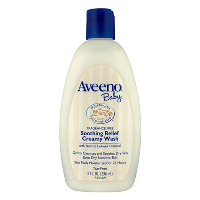 【澳洲Amcal】Aveeno 艾维诺 天然燕麦婴儿全天候舒缓保湿沐浴乳 236ml