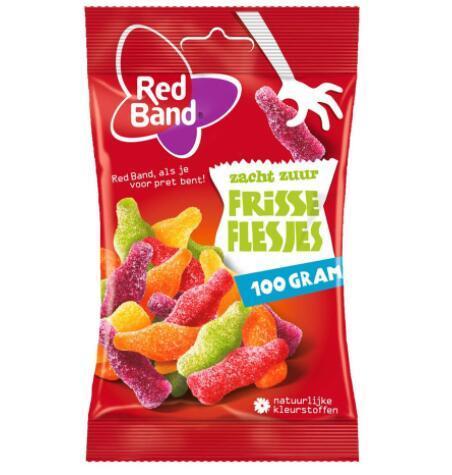 【荷兰DOD】Red Band 可乐瓶酸味软糖 24件100g