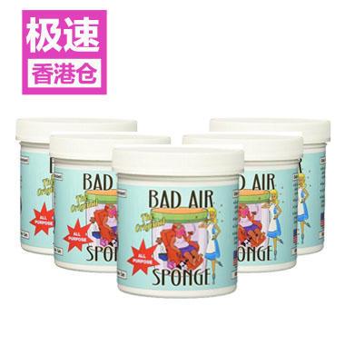 【美国Babyhaven】【满59美元减5美元】5盒装 Bad Air Sponge 除甲醛空气净化剂- 14 盎司