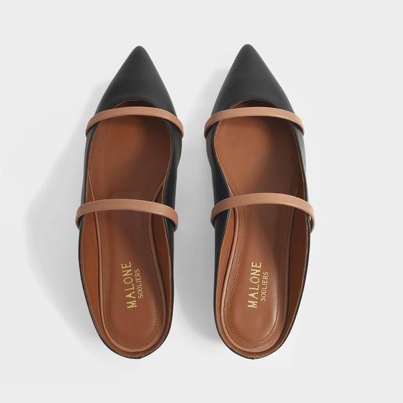 Malone Souliers Maureen 平底20 穆勒鞋+Acne Studios Musubi 迷你女包